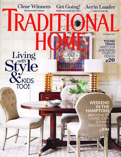 Traditional Home - July  2016